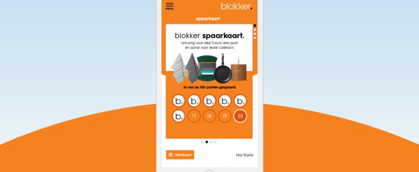 blokker&jij: nieuwe spaarprogramma Blokker
